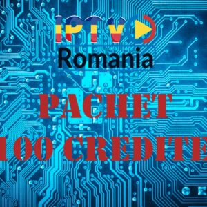 pachet reseller iptv romania 100 credite